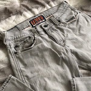 Men's Levi's 511 skinny jeans 32x32 light gray